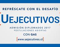 Etiqueta Universidad de Chile, Uejecutivos
