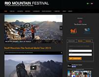 Rio Mountain Festival 2014 - Website Responsivo