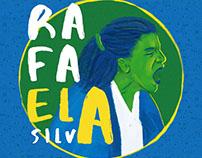 Ilustração Rafaela Silva