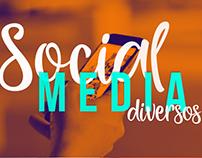 Social Media | Diversos - Direção de Arte