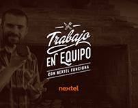Trabajo en Equipo - Nextel - UI/UX Design