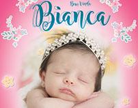 """Banner """"Bem Vinda""""- Bebê"""
