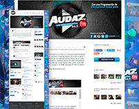 Audaz FM / Identidad Visual / Web