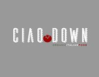 Ciao Down Logo Ideas