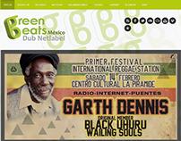 GreenBeat Dub Net Label - Sitio web