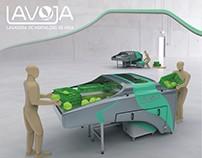 LAVOJA: Lavadora de hortalizas de hojas