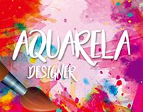 AGÊNCIA AQUARELA - Logo Design