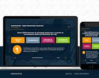 Interface para Cursos EAD   UX, UI, HTML5, CSS3