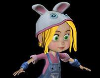 Personaje - niña