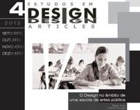 Revista impressa: Estudos Em Design