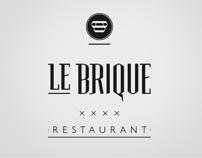 Le Brique . Restaurant