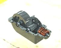 Diseño de caja de engranajes de uso industrial