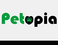 Petopia logo concept
