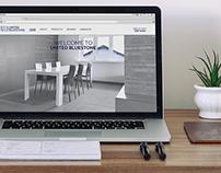 Web design ~ United Bluestone ~ Graphic Design