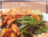 Social Media food template