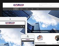 Layout site - EloDelta Adm. de Condomínios