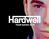 Hardwell Tour Dates 2016