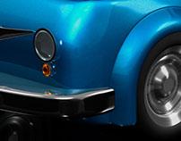 Modelado Inorgánico : Carro Cartoon.