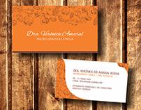 Dra. Verônica Amaral | Cartão de Visita