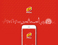 Emcali app para reporte de daños y servicios de cliente