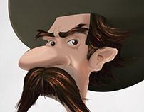 Ilustración vaquero