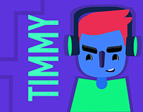 Timmy - Animated Dancing loop