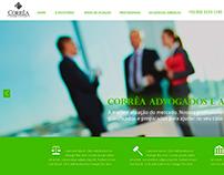 Site Corrêa Advogados e Associados