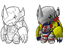 Digimon Colorized