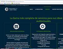 Sitio Web Producciones & TV Muñoz y Muñoz
