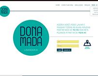 Lavanderia Dona Mada  layout UI eUX
