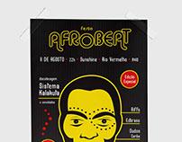 Festa Afrobeat - Cartazes