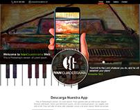 Diseño de página web para galería de arte