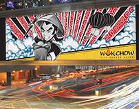 Wokchow Asian Restaurant Re-branding (USA)