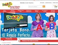 Didatoys ecommerce by ProDig in 40%