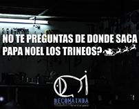 Publicidad Navideña Decomainba (Herreros y Carpinteros)