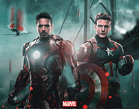 Captain America: Civil War - (2016) FanPoster
