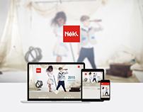 Website - Neki Confecções