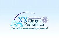 Sitio web Congreso de Cirugía Pediátrica