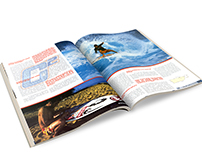 Double Page Magazine. Editorial Design