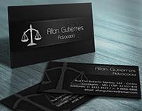 Cartão de Visita Advocacia