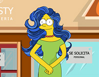 My version of Marge Bouvier