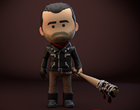 """Negan"" - personal project"