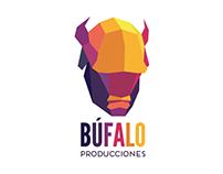 Logo and Business Card for Búfalo Producciones