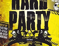 Flyer - Hard Party 2013 - L'Amfora Disco Pub
