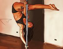 Pole arte: dançando em barras