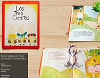 Diseño editorial / LOS TRES CERDITOS