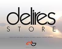 Proyecto Imagen Corporativa DELIRES STORE. 2011