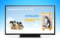 Totem Interativo Pinguinario