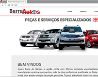 Website Barra Autos