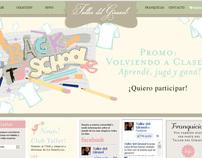 Taller del Girasol website